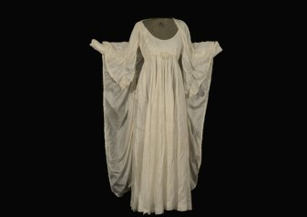 Parachute Wedding Dress, Illinois State Museum